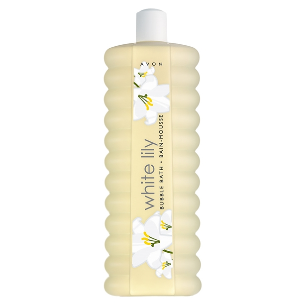 Avon White Lily Bubble Bath - 1 litre