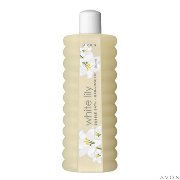Avon White Lily Bubble Bath - 500ml