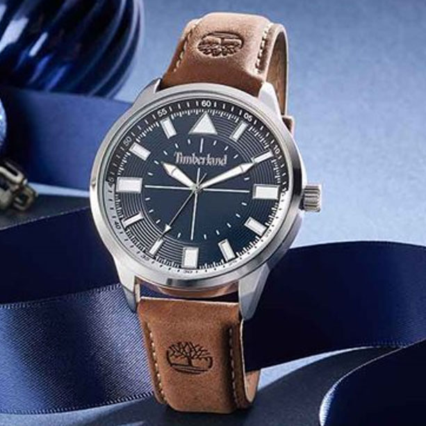 Timberland Watch with Leather strap and 2 year warranty